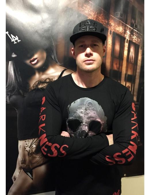 Darkness Skull EL Barrio L/S T-Shirt by BSAT