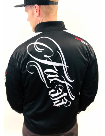 FAT313 Master Track Jacket Signature Black