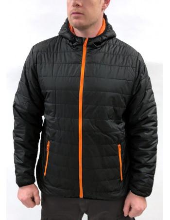 Urban Bubble Jacket BlackNOrange