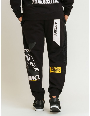 Street Instinct Sweatpants Black by Amstaff