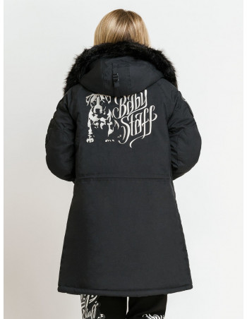 Babystaff Parka Coat Black