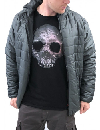 Urban Bubble Jacket GreyNBlack