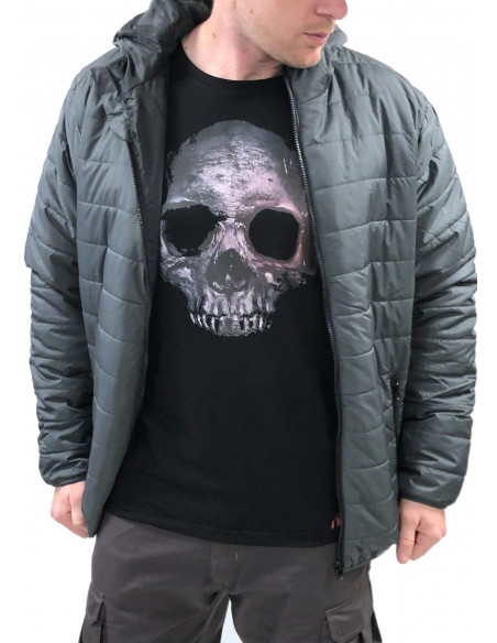 Urban Bubble Jacket GreyNBlack