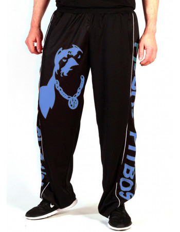 Pitbos Mesh Pants Dog Logo Blue