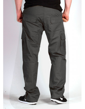 BSAT Regular Fit Cargo Pants Dark Grey