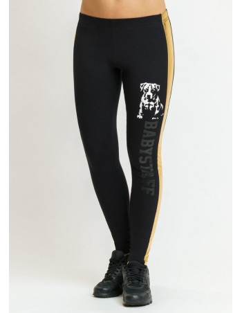 Babystaff brandlogo leggings BlackNGold