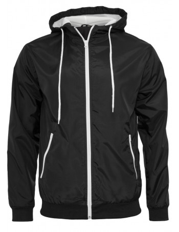 Light Jacket Windrunner Black/White