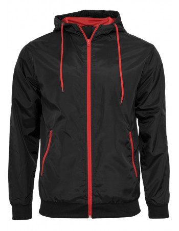 Light Jacket Windrunner Black/Red