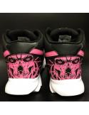 Skull Race Sneakers BlackNPink by BSAT