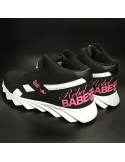 RebelBabe Shoes BlackNPink by BSAT