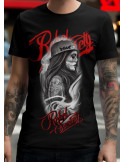 BSAT Rebel Society Girl BlackNRed