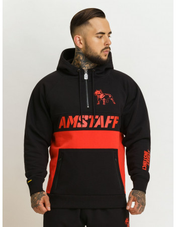 Street Instinct Stay Strong Hoodie by Amstaff