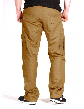BSAT Regular Fit Combat Cargo Pants Dark Khaki