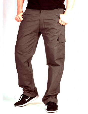BSAT Regular Fit Combat Cargo Pants Dark Cedar Grey