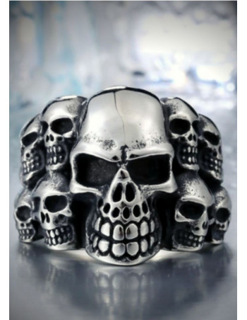 Skull Ring Multiple