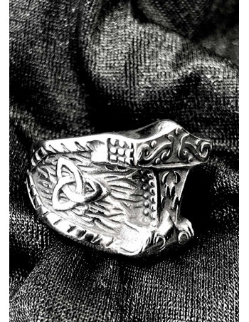 Mjølnir Celtic Knot Ring
