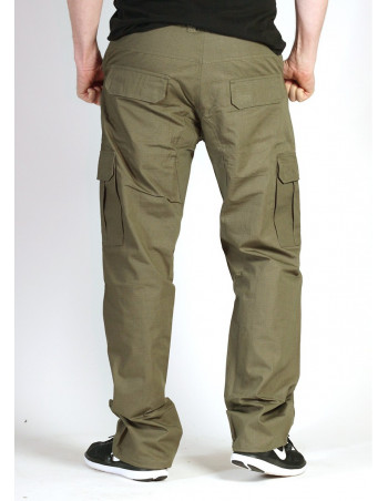 BSAT Regular Fit Combat Cargo Pants Light Green