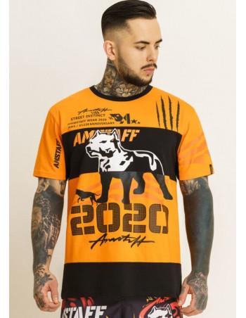 StreetInstinct T-Shirt OrangeNBlack by Amstaff