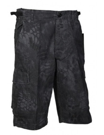 US Cargo Shorts Prewashed Camo NIght by TechWear
