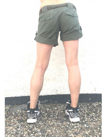 Women Shorts RipStop 2 in 1 Olive