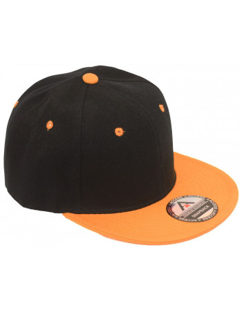 Access SnapBack Cap Black Orange