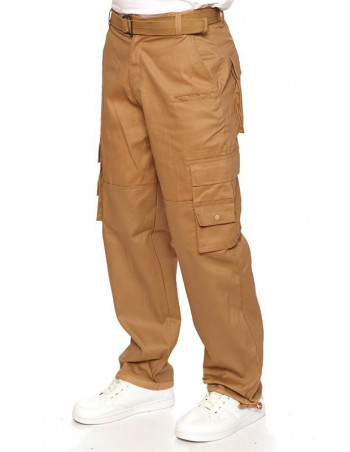 Access Cargo Pants Dark Khaki