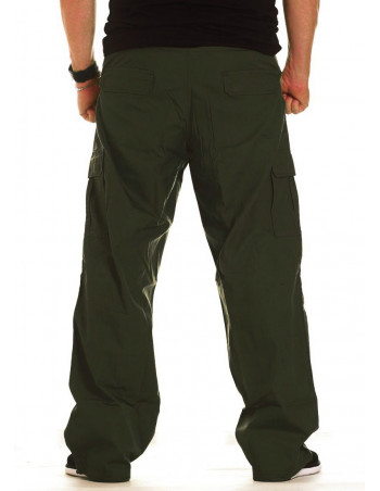 BSAT Combat Cargo Pants Dark Olive baggy fit II