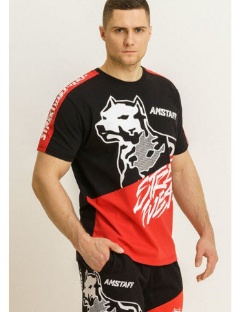 Street Dog T-Shirt by Amstaff