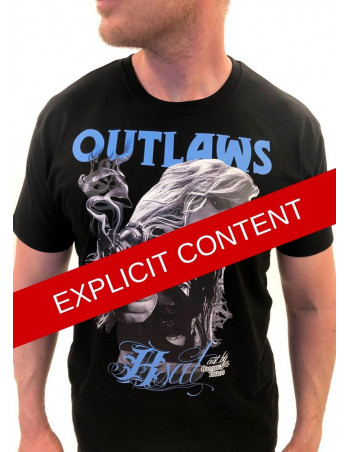 Outlaw Bastards t-shirt Black by BSAT
