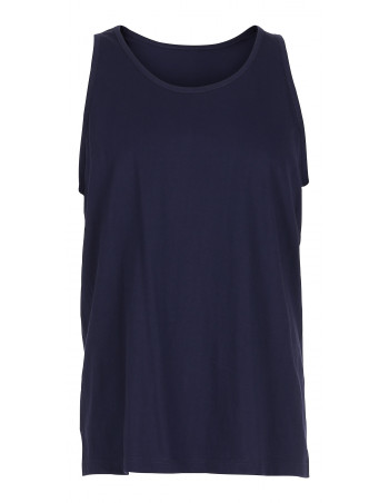 Tank Top Plain Navy