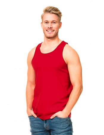 Tank Top Plain Red