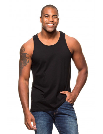 Tank Top Plain Black