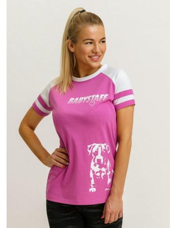 Logo Puppy T-Shirt Pink by Babystaff
