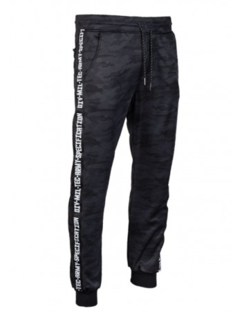 TechWear Track Pants Dark Camo