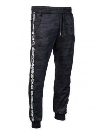 TechWear Track Pants Dark Camo
