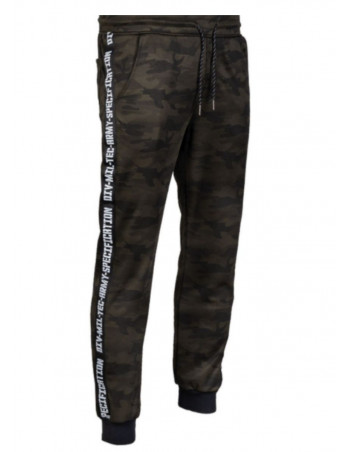 TechWear Track Pants Woodland Camo