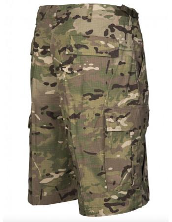 Techwear shorts Ripstop Camo