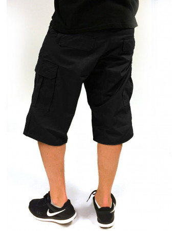 BSAT Cargo Shorts Regular Fit Black