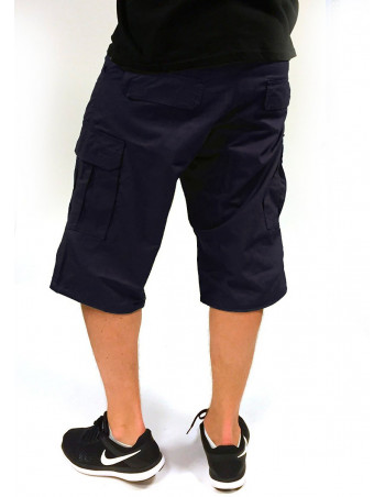 BSAT Cargo Shorts Regular Fit Navy