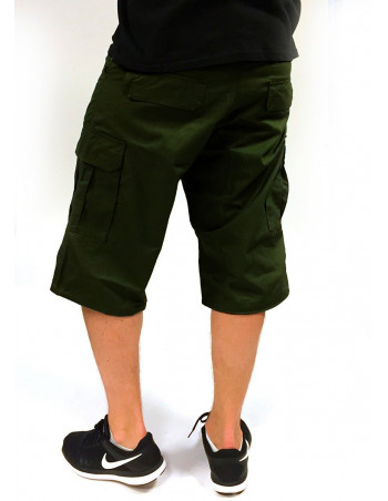 BSAT Cargo Shorts Regular Fit Olive Green