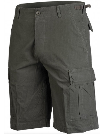 Techwear RipStop shorts Washed Olive