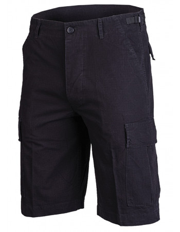Techwear RipStop shorts Washed Black