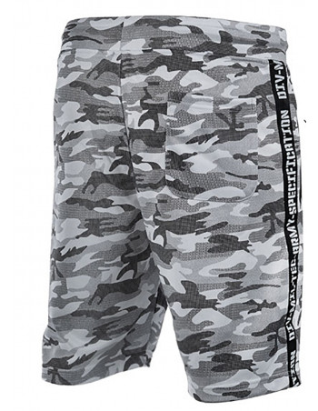 Tech Wear Track Shorts Urban Camo