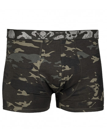 2 Pack Boxer Shorts Skull Camo by Tech Wear