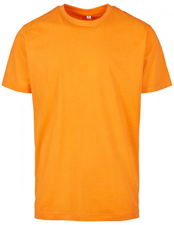 Premium Cotton T-Shirt Orange