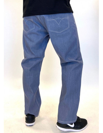 Classic Denim Jeans Light Blue Baggy