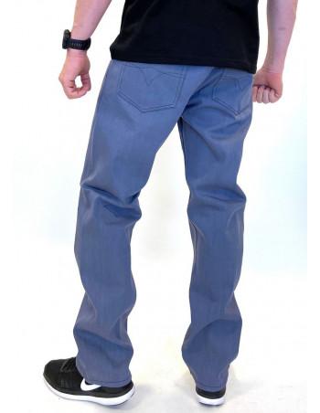 Classic Denim Jeans Stone Blue Baggy