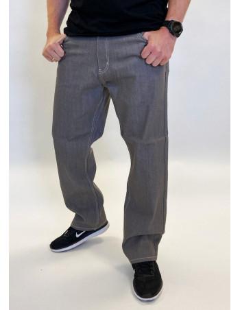 Classic Denim Jeans Grey Baggy