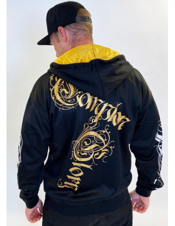Compton Glory ZipHoodie Black by BSAT
