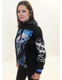 BSAT Outlaws Chica Hoodie Black